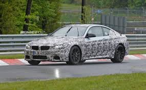 latest bmw m4 coupe f82 spy pics and updated info nearly 8000 rpm