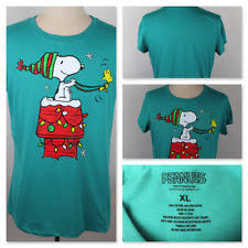 snoopy christmas t shirts snoopy sleeve t shirts for women ebay