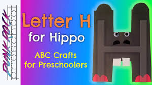 letter h for hippo fun preschool crafts for kids best