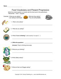 all worksheets present progressive in spanish worksheets free