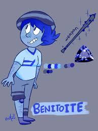 benitoite gemsona benitoite by giddydonut on deviantart