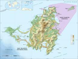 Anguilla Map French Saint Martin Cruise Ship Port Profile