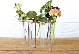 Round Flower Vases Small Flower Vases Glass Budvases Antique Farmhouse