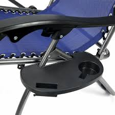 Zero Gravity Chair With Side Table Chair Zero Gravity Lounger Chair Recliner With Side Table By