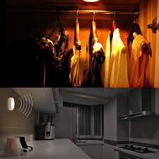 Bathroom Sensor Lights by Luckled Motion Sensor Light Battery Powered Led Closet Night