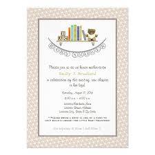 book themed baby shower invitations dancemomsinfo