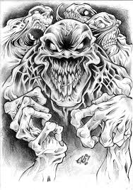 horror sleeve tattoo design photo 1 photo pictures and