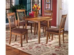 ashley furniture berringer 5 piece drop leaf table u0026 upholstered