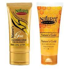 Scrub Gold nature s essence gold cleansing scrub illuminating wash combo