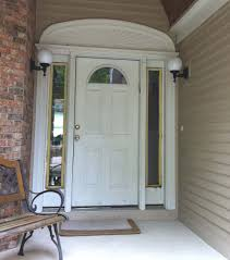 exterior artistic white front door paint color ideas best