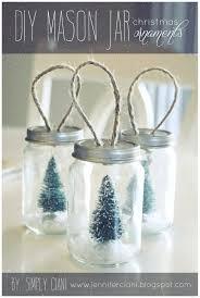 simply ciani diy mason jar ornaments take baby food jars spray