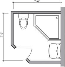 Small Bath Floor Plans by Small Bathroom Design Plans 1000 Images About Small Bath Design On