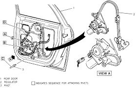 repair guides interior window regulators and motors autozone com