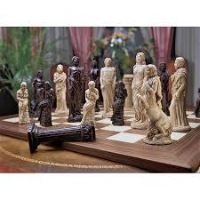 design toscano wu905560 gods of greek mythology chess set cool