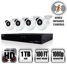 night owl b 10ph 841 pir dvr camera s wired lan 10 100