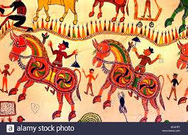 india rajasthan mural painting wall painting fresco art stock india rajasthan mural painting wall painting fresco art depiction picture portrayal