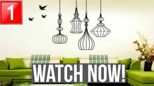 wall decoration ideas for living room youtube