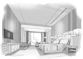 dessiner une chambre en perspective chambre en perspective avec point de fuite amazing home ideas