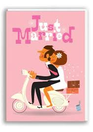 just married cards just married card nineteen seventy three