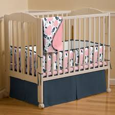 Navy And Coral Crib Bedding Navy And Coral Crib Bedding Baby Stuff Pinterest Coral Crib