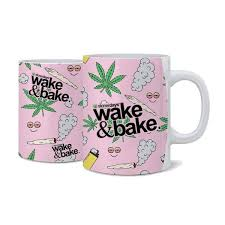 and bake mug pink bake nug mug shop stonerdays
