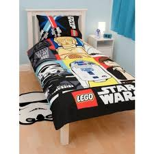 childrens kids lego star wars duvet quilt cover bedding set twin