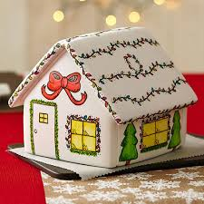 christmas gingerbread house painted christmas gingerbread house wilton