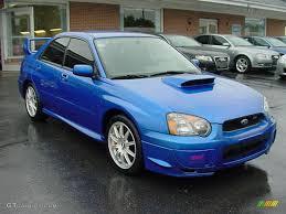subaru wrx hatch 2004 2004 wr blue pearl subaru impreza wrx sti 14123376 gtcarlot com