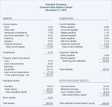 Sample Income Statement Template by Financial Ratios And Analysis Explanation Accountingcoach