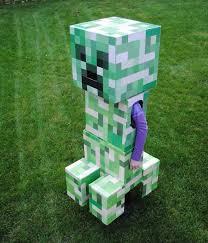 Steve Halloween Costume Telescoping Minecraft Creeper Costume Creeper Costume Steve