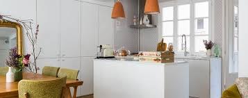 mod鑞e de cuisine am駻icaine cuisine ouverte sur le salon aménager sa cuisine avec un îlot ou