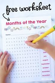 january february march april teaching the months of the