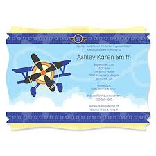 airplane baby shower airplane personalized baby shower invitations