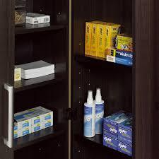sauder homeplus four shelf storage cabinet sauder homeplus swing out storage cabinet ebay