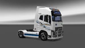 2013 volvo truck volvo fh16 2013 galaxy express truck skin 1 27 ets2 mod