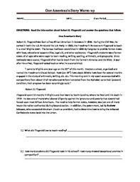 this social studies worksheet is meant to introduce students to a
