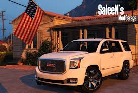 2015 gmc yukon denali add on replace gta5 mods com