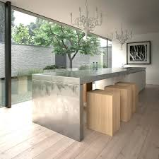 modern kitchen islands with seating stainless steel kitchen island with drawers folrana com