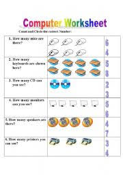 english worksheets computer worksheet