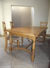 oak dining room table and chairs