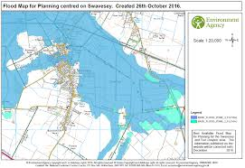 Flood Map Swavesey Flood Risk Map For Planning Swavesey Parish Council