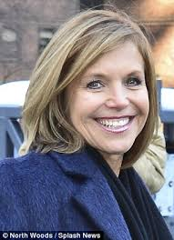 hairstyles of katie couric katie couric debuts new face framing haircut at new york fashion