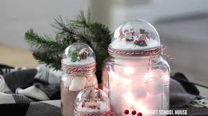 jar lid snow globe