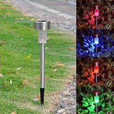 Landscaping Solar Lights by Online Buy Wholesale Led Garden Spike Lights From China Led Garden