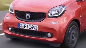 smart car pink smart fortwo prime lava orange black driving video