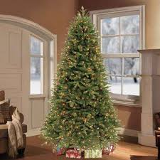8 foot led christmas tree white lights artificial christmas trees christmas trees the home depot