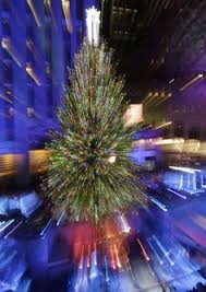 rockefeller center christmas tree lighting new jersey spruce