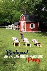 Backyard Ninja Warrior Course 17 American Ninja Warrior Party Ideas For Any Age Spaceships And
