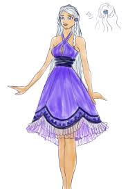 cocktail drawing princess yue cocktail dress by kukochan on deviantart
