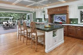 Transitional Island Lighting Kitchen Island Lighting Contemporary With Dark Wood Cabinets